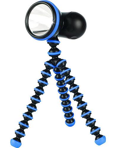Фонарь светодионый Joby GorillaTorch, черный/синий, в блистере